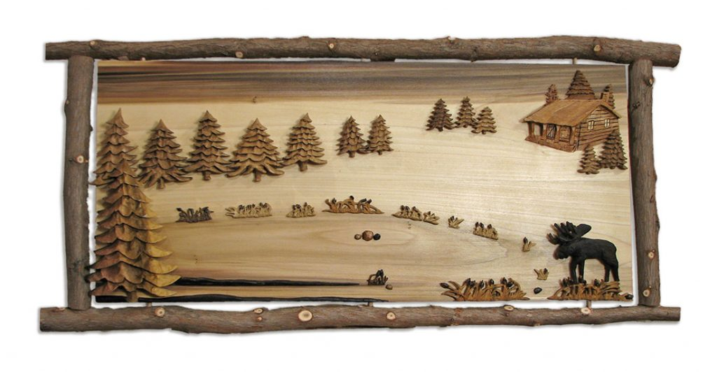 Woodscape Carving
